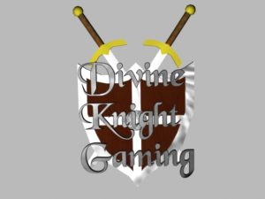 Early Divine Knight Gaming Logo I made