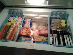 Our Fully Stocked Freezer